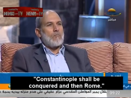 """Islamic state promise Palestinian dream to """"takeRome"""""""