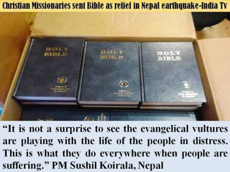 Bibles for Nepal!