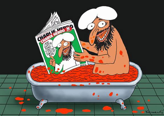 Charlie Hebdo Paris Terror Controversy Cartoon 06