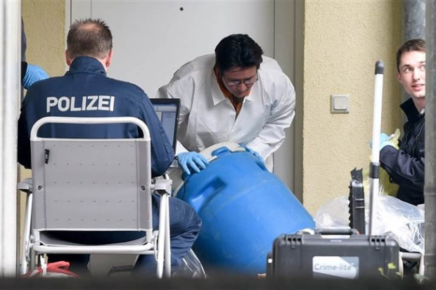 German police foil terrorist attack near Frankfurt