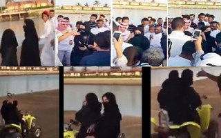 Saudi Arabia: Women with only eyes visible subjected to endless sexual harassment duringEid