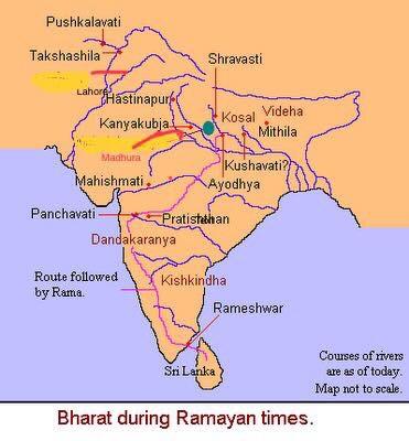 Bharat during Ramayanera.